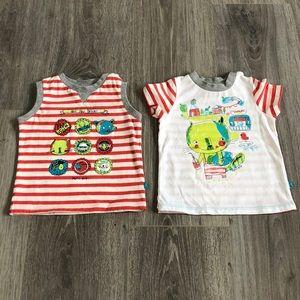 Tank & T-shirt Souris mini